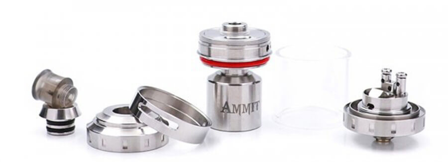 ammit mtl rta 2ml by geekvape μερη
