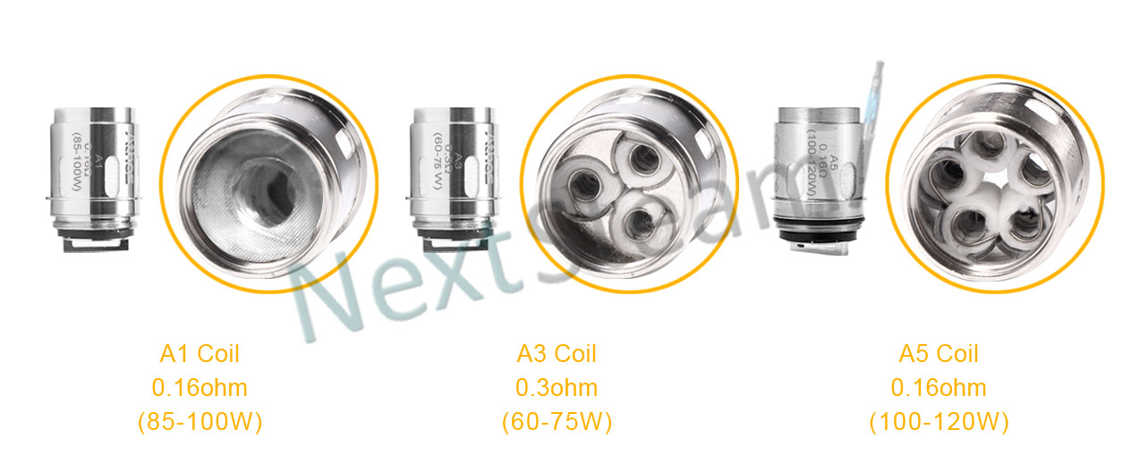 aspire athos 2 ml atomizer coil heads
