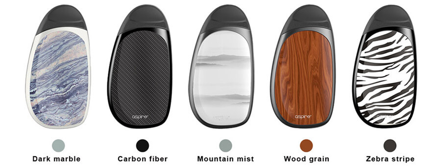 aspire cobble pod kit χρωματα