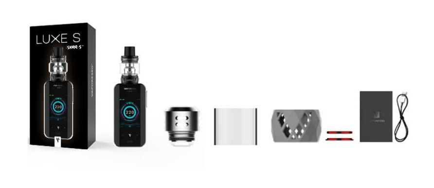 vaporesso luxe 200w with skrr kit πακετο