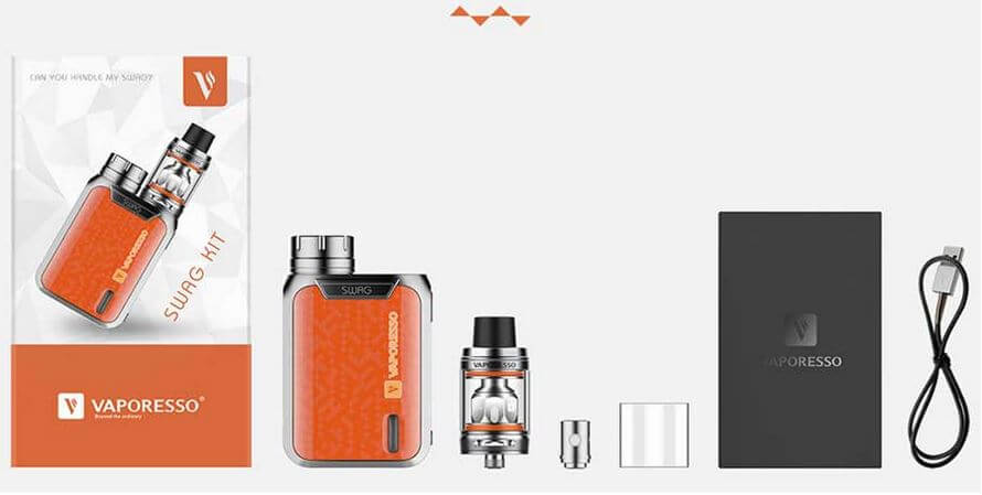 vaporesso swag 80w with nrg kit πακετο