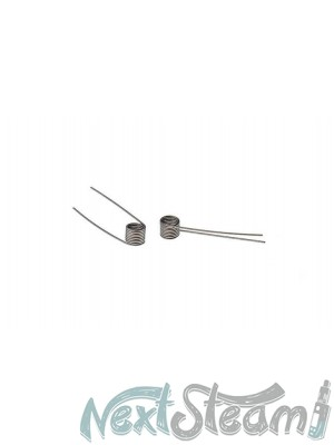 Authentic Kanthal A1 Nichrome Coiled Wires 1.25Ohm