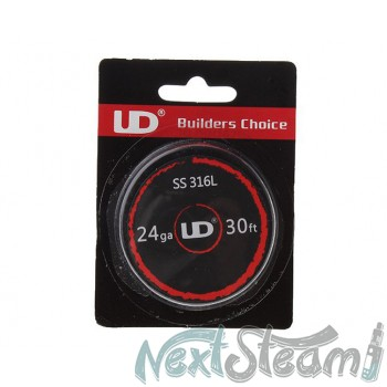 Authentic UD 316L Stainless Steel 24 AWG