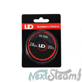 Authentic UD 316L Stainless Steel 28 AWG