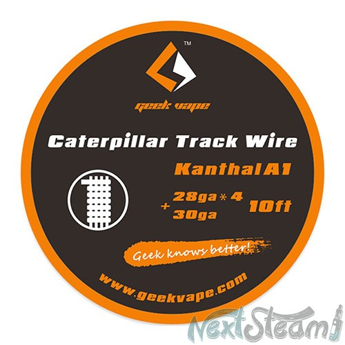 geek vape ka1 caterpillar track wire 3m
