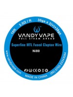 vandy vape ni80 superfine mtl fused clapton 3m