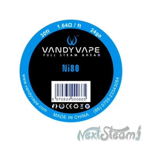 vandy vape pure nickel ni80 24ga