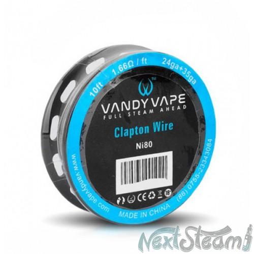 vandy vape clapton wire ni80 24+35ga