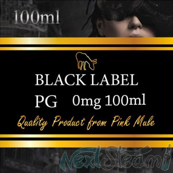 pink mule black label βαση 100% pg 0mg