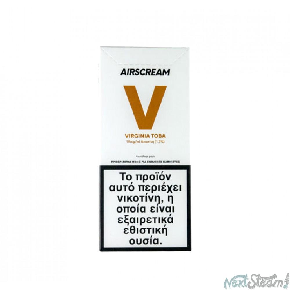 airscream pops - virginia toba 4 x 1.2 ml