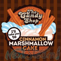 big mouth the candy shop - cinnamon marshmallow cake αρωμα 10 ml