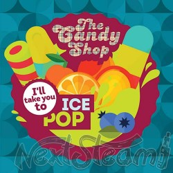 big mouth the candy shop - ice pop αρωμα 10 ml