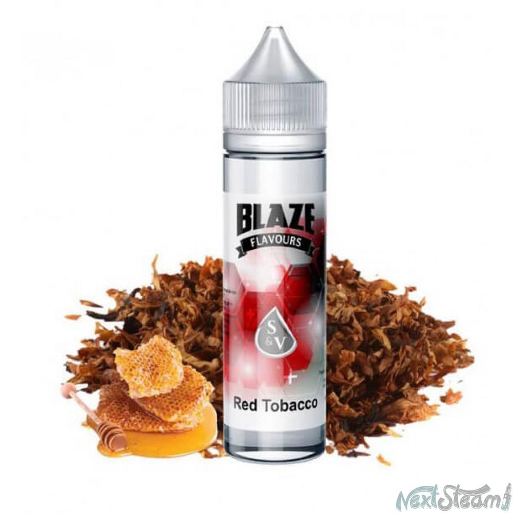 blaze eliquids - red tobacco 15/60ml