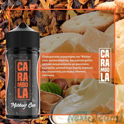 carambola flavour shot - mickey cue 36/120ml