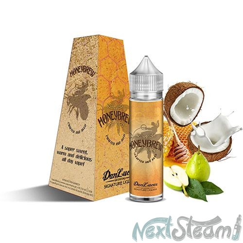 dan lucas signature flavourshot - honeybrew 12/60ml