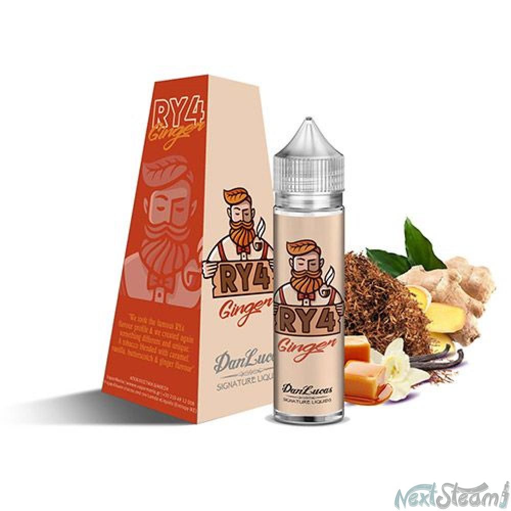 dan lucas signature flavourshot - ry4 ginger 12/60ml