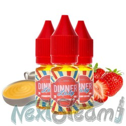 dinner lady - strawberry custard 3x10 ml