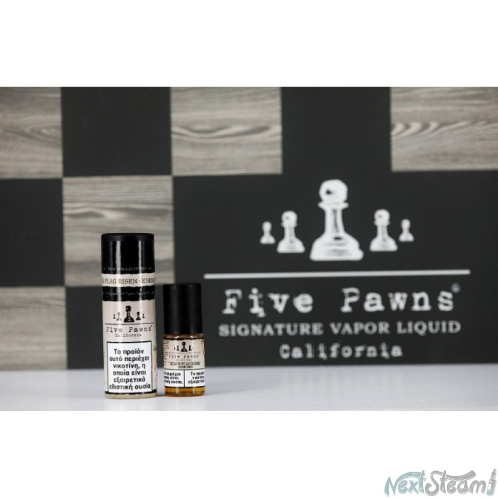five pawns - black flag risen enriched 10 ml