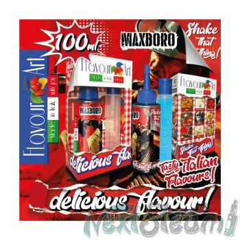 flavourart flavorshots - maxboro 60/100ml