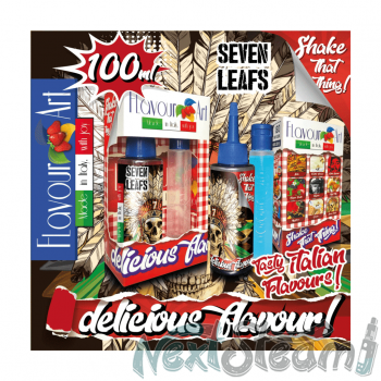 flavourart flavorshots - seven leafs 60/100ml