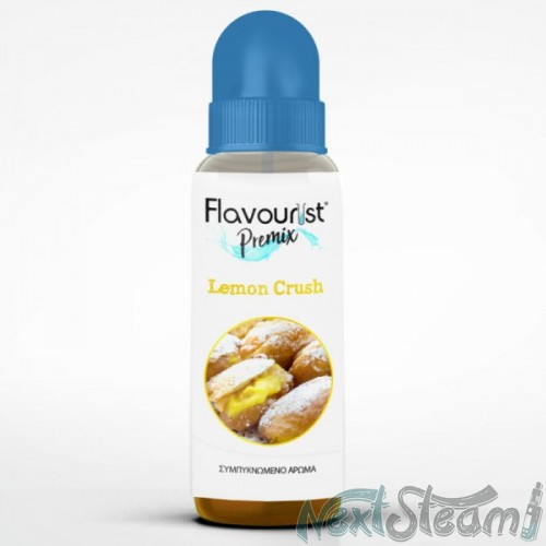 flavourist premix - lemon crush 8/40ml