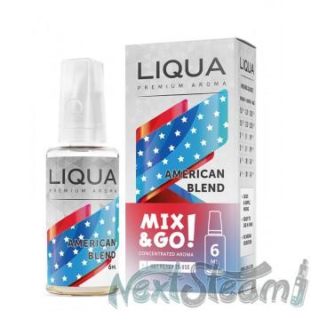 liqua - american blend flavor 6/30ml