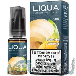 liqua - new mix banana cream 10 ml