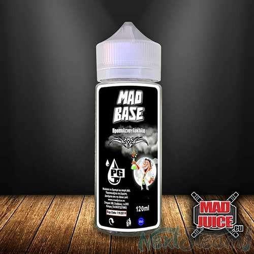 mad juice - mad base 100% pg 120 ml 0mg