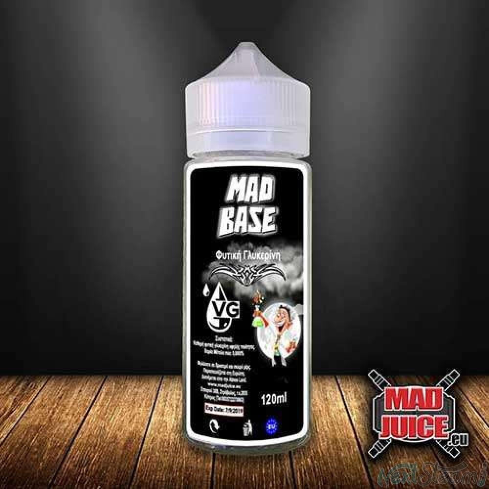 mad juice - mad base 100% vg 120 ml 0mg