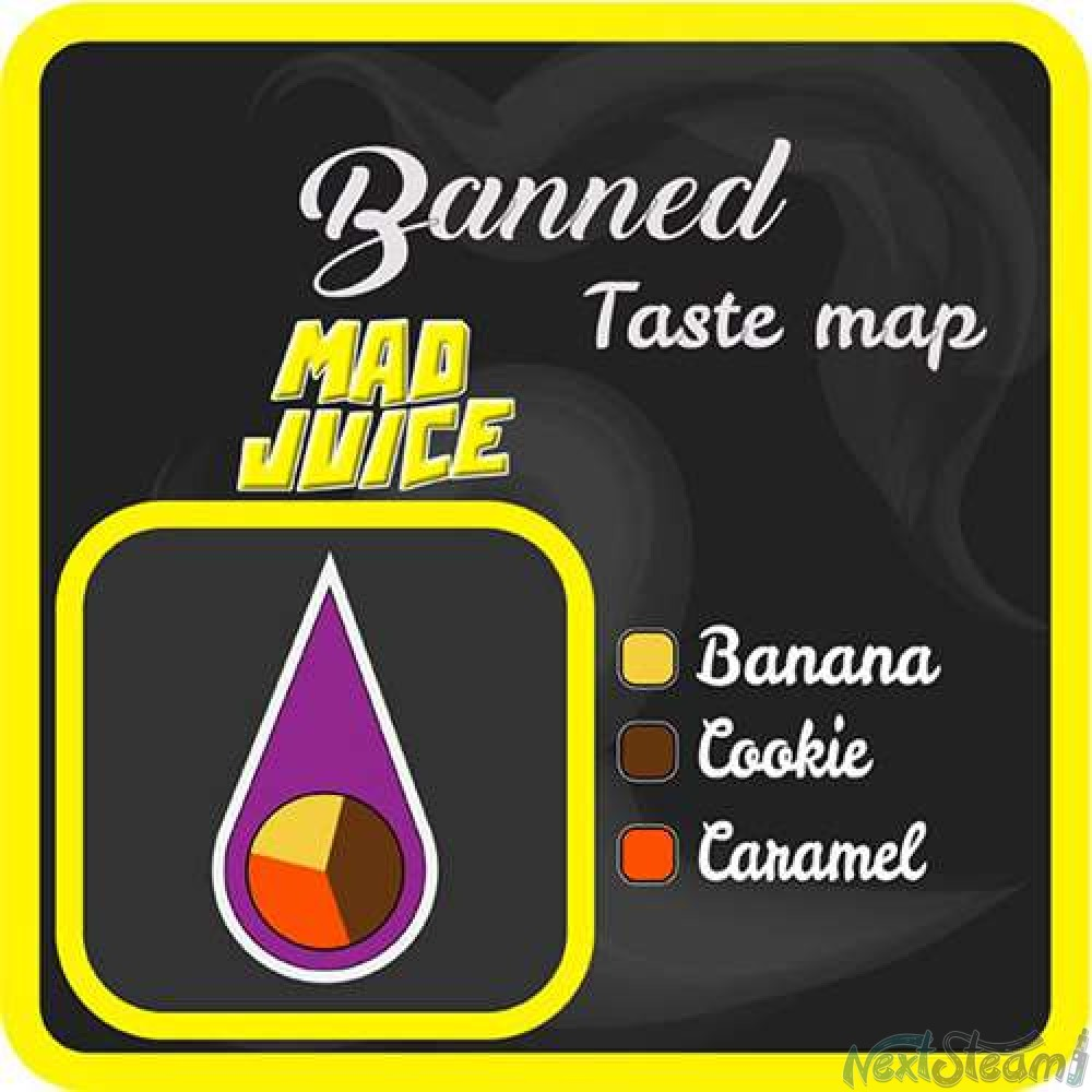 mad shake - banned 15/100ml