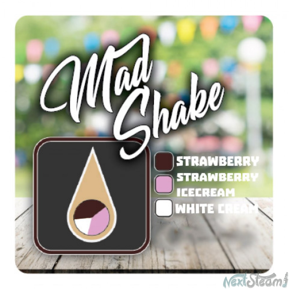 mad shake - strawberry ice cream 15/100ml