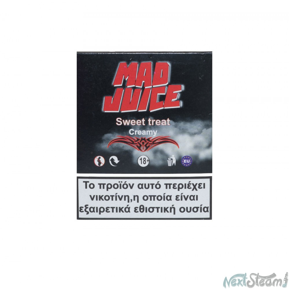mad juice sweet treat 3 x 10 ml