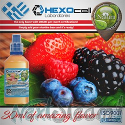 mix shake vape - natura 30/60 ml forest fruit mix