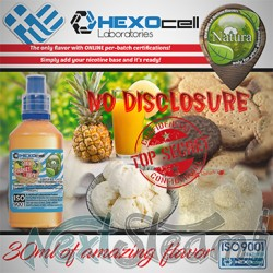 mix shake vape - natura 30/60 ml no disclosure