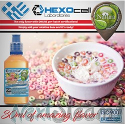 mix shake vape - natura 30/60 ml cereal blast