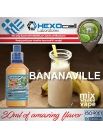 mix shake vape - natura 30/60 ml bananaville