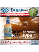 mix shake vape - natura 30/60 ml caramel type 1