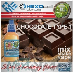 mix shake vape - natura 30/60 ml chocolate type 1