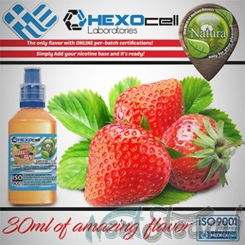 mix shake vape - natura 30/60 ml strawberry