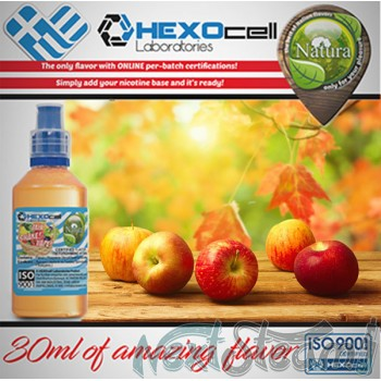 mix shake vape - natura 30/60 ml forest applez
