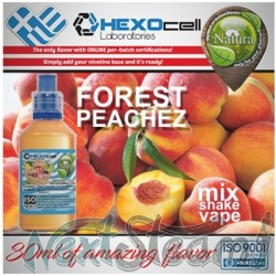 mix shake vape - natura 30/60 ml forest peachez