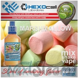 mix shake vape - natura 30/60 ml marshmallow