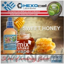 mix shake vape - natura 30/60 ml sweet honey