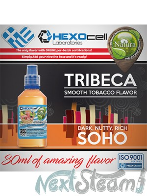 mix shake vape - natura 30/60 ml tribeca & soho