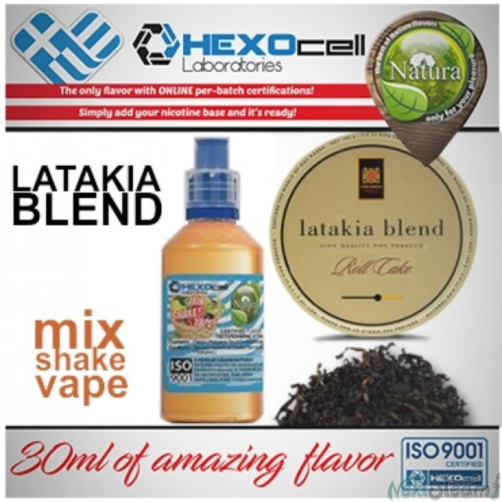 mix shake vape - natura 30/60 ml latakia