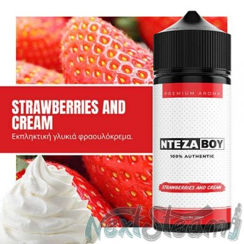 ntezaboy - strawberries and cream 25/120 ml