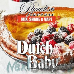 paradise flavours shake and vape - dutch baby 10ml (50ml)