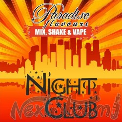 paradise flavours shake and vape - night club 10ml (50ml)