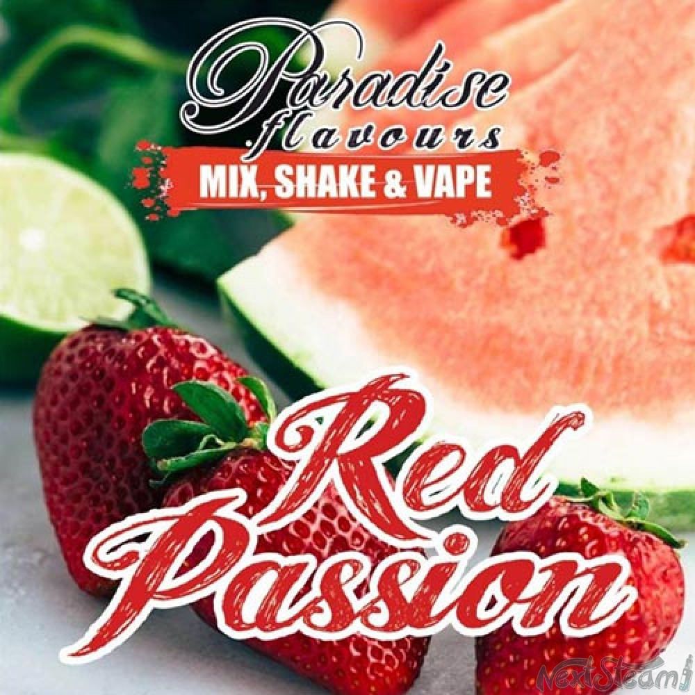 paradise flavours - red passion 10/50ml