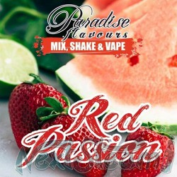 paradise flavours shake and vape - red passion 10ml (50ml)